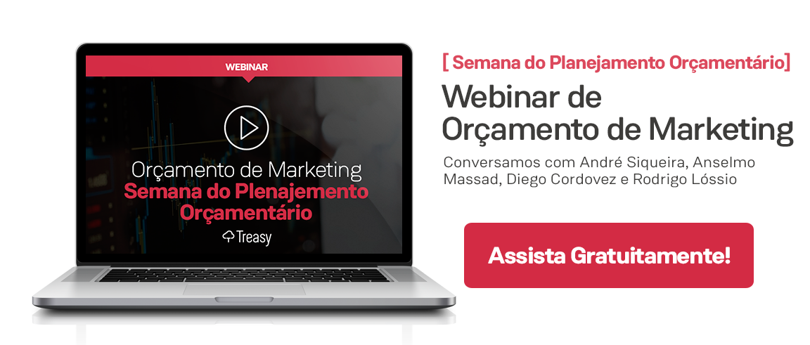 Webinar Orçamento de Marketing